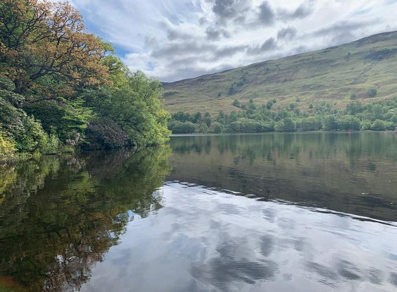 Julie Cameron took this picture of Loch Oich in May 2019.