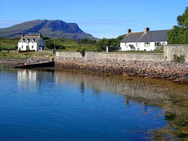 Isle Martin in the Summer Isles is looking for a volunteer caretaker for the summer with hopes to permanently repopulate the place with permanent residents once again. PIC: Geograph.org/Chris and Meg Mellish.