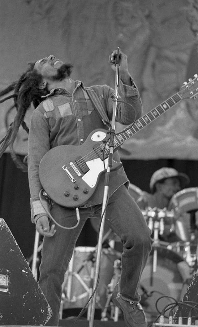 Bob Marley in July 1980 on the Uprising tour of Europe, which included a night at the Glasgow Apollo. PIC: Monosnaps/Flickr/Creative Commons.