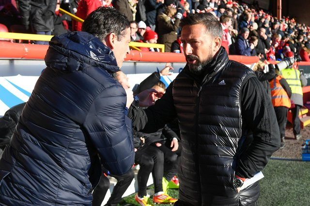 Disappointed to see Derek McInnes become the latest managerial casualty, Hibs boss Jack Ross says the pressures of the job are unrelenting. Photo by Craig Foy/SNS Group