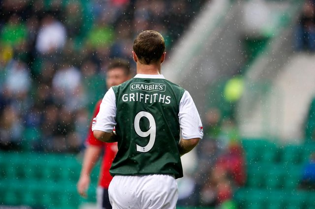 Leigh Griffiths was prolific for Hibs. Picture: SNS