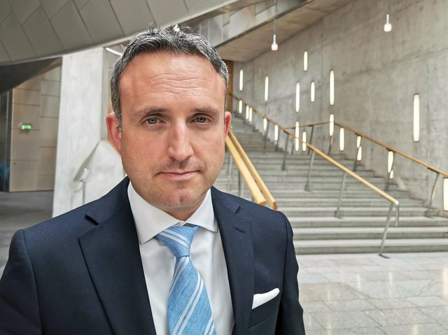 'Frankly Ludicrous' - MSP Alex Cole-Hamilton  previously criticised the vaccination regime