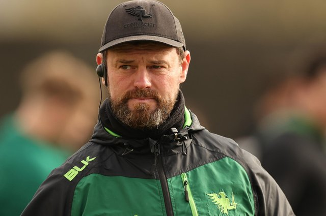 Connacht attack coach Nigel Carolan is joining Glasgow Warriors. Picture: James Crombie/INPHO/Shutterstock