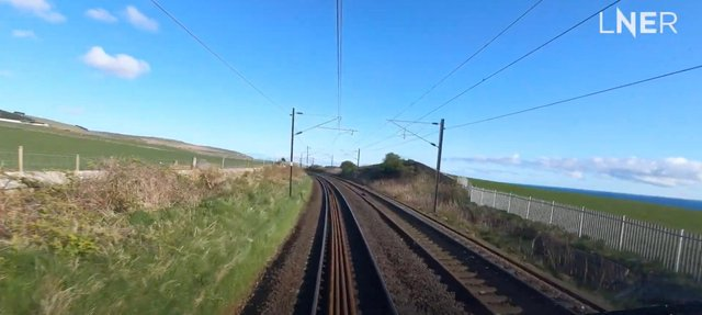 LNER services to Edinburgh stations are known for offering dazzling views over the East coast.