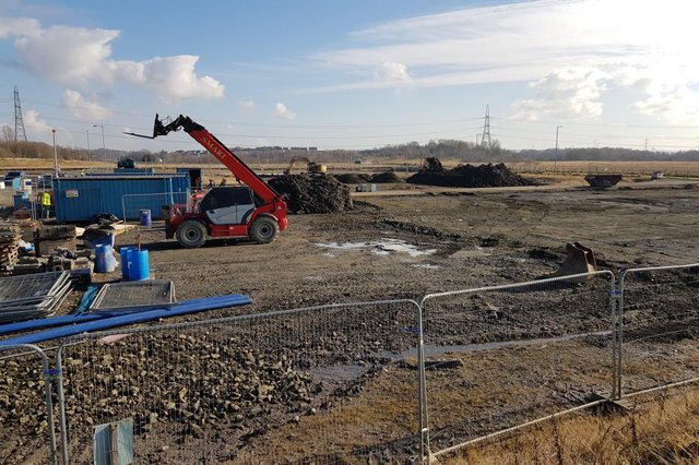 Construction starts on phase two of Gartcosh Industrial Park.