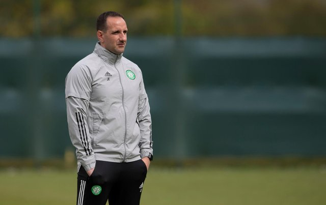 Celtic interim manager John Kennedy believes the condition for elite player development have not existed in Scotland over recent years.(Photo by Craig Foy / SNS Group)