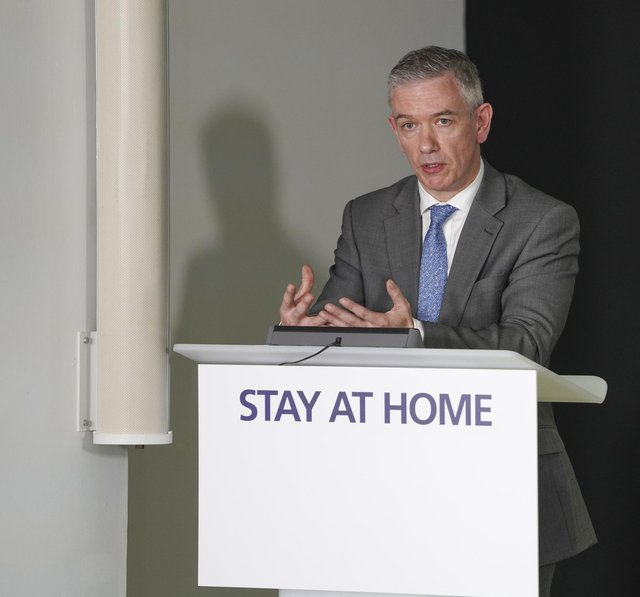Gregor Smith, the chief medical officer for Scotland, has said that there are still bumps to come with the pandemic as hospital admissions rise.