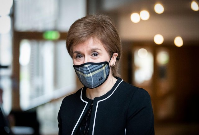 The First Minister said the lifting of rules planned for early April would go ahead during her latest coronavirus briefing (Getty Images)