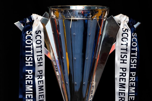 The Scottish Premiership Trophy will be given to Rangers after being held by Celtic for the past nine years (Photo by Craig Williamson / SNS Group)