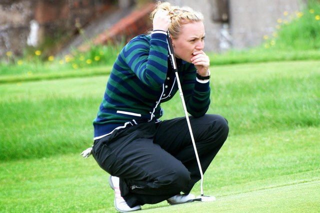 Kilmacolm's decision to line up former Scottish Women's champion Megan Briggs as the 2022 club captain has been a topic of debate in the Scottish game. Picture: Kilmacolm Golf Club