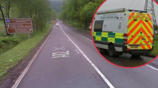 A woman has been rushed to hospital after emergency services dealt with'medical incident'on the A82 near Tarbet at around 12.40pm on Thursday, July 15.
