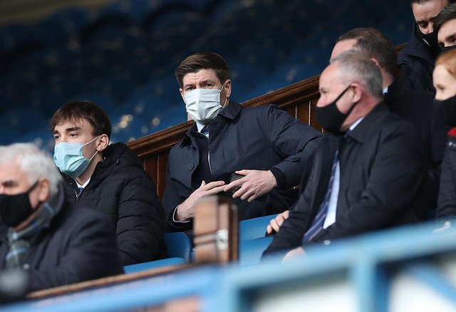 Rangers Manager Steven Gerrard. (Photo by Ian MacNicol/Getty Images)