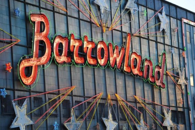 The Barrowland Ballroom is one of Glasgow's best-known music venues.