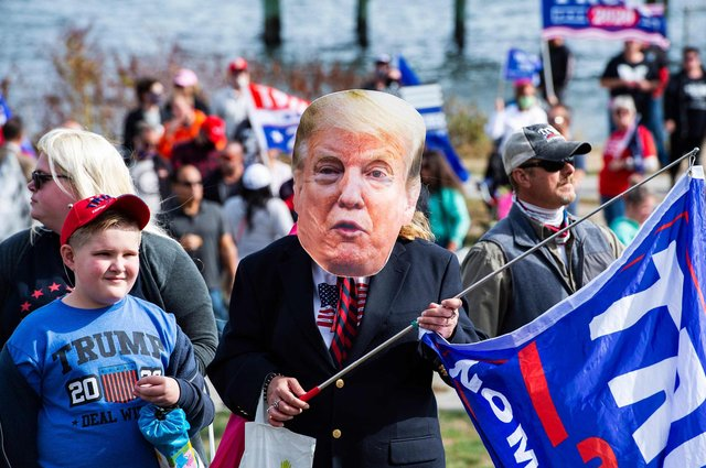 Donald Trump has betrayed his own supporters, says Henry McLeish (Picture: Joseph Prezioso/AFP via Getty Images)