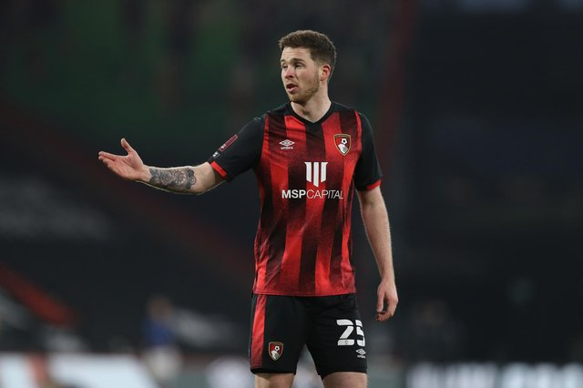 Jack Simpson of AFC Bournemouth is reportedly on Rangers radar. (Photo by Naomi Baker/Getty Images)