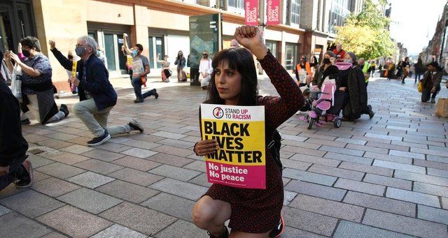 The Black Lives Matter movement has encouraged Scots to think about racial injustice