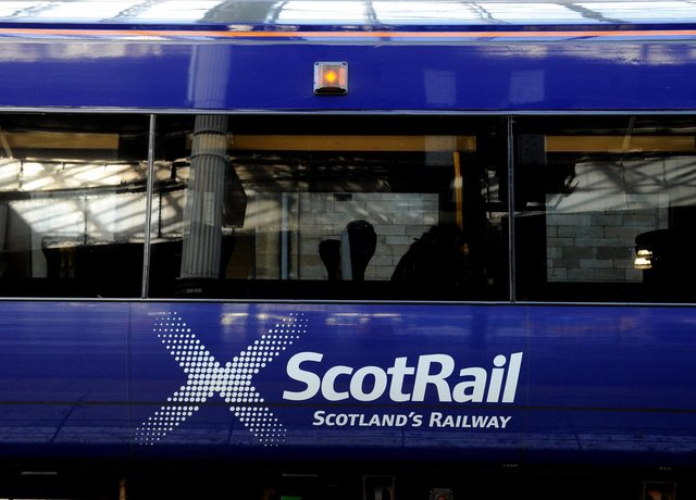 Rail services have been disrupted.