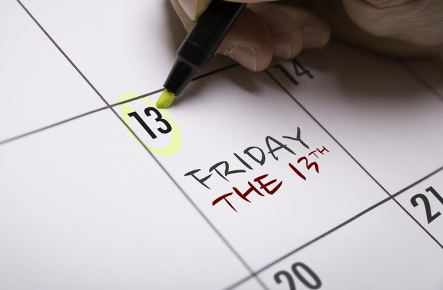 Friday 13 is steeped in superstition