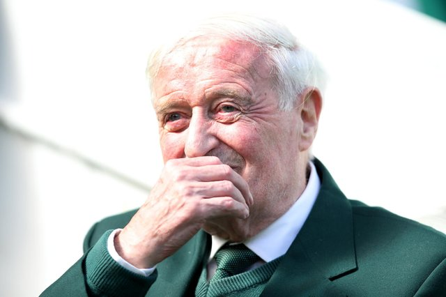 Former Celtic player Charlie Gallagher has died at the age of 80 (Photo by Ian MacNicol/Getty Images)
