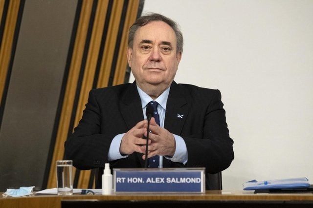 Former first minister Alex Salmond has said he will initiate legal action against Leslie Evans, the permanent secretary of the Scottish Government.