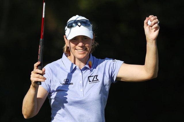 Annika Sorenstam, pictured during the Gainbridge LPGA at Lake Nona in Florida in February, is to play on Swedish soil for the first time in 13 years in June. Picture: Cliff Hawkins/Getty Images.