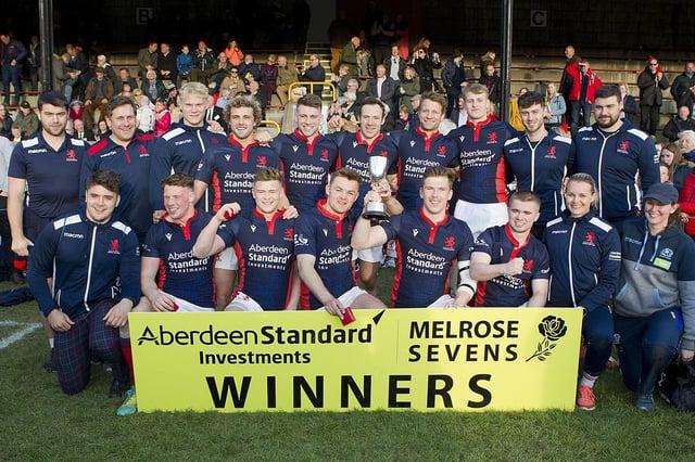 London Scottish won the Melrose Sevens in 2019.