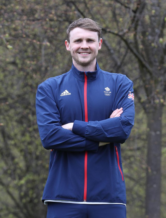 STIRLING, SCOTLAND - APRIL 27: Ross Murdoch of Great Britain poses for a photo to mark the official announcement of the swimming team selected to Team GB for the Tokyo 2020 Olympic Games at Stirling University on April 27, 2021 in Loughborough, England. (Photo by Ian MacNicol/Getty Images for British Olympic Association)