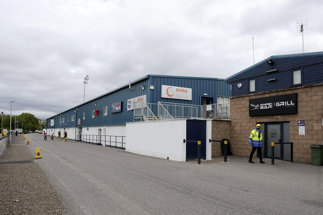 Ross County have been unable to play their second Premier Sport Cup fixture due to covid affecting some squad and staff members in Dingwall (Picture: Michael Gillen)