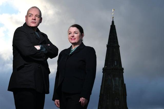 The Majority founders, Mark and Mary Devlin