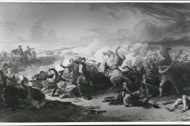 """At 6am on September 21, 1745, 2,000 men drawn to the cause of Prince Charles Edward Stuart - the """"Young Pretender"""" - clashed with a larger force of some 3,000 government troops under the command of Sir John Cope close to the Firth of Forth in East Lothian.(Photo by Hulton Archive/Getty Images)"""