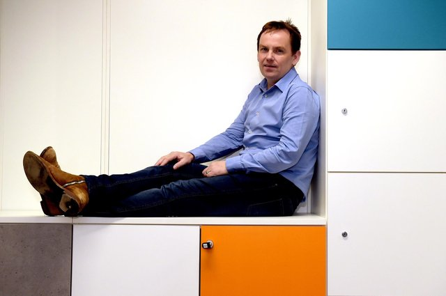 Nucleus, which chief executive David Ferguson set up with the backing of a number of financial advice firms in 2006, has developed software platforms that enable financial advisers to provide online access to clients for investments across ISAs, pensions and bond accounts. Picture: Lisa Ferguson