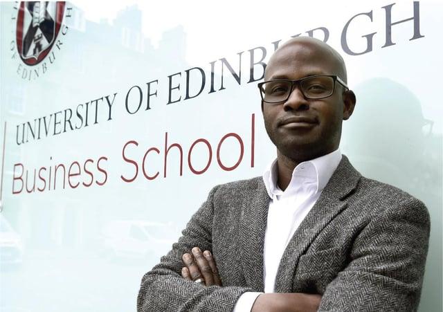 Professor Gbenga Ibikunle, Edinburgh University's Chair of Finance