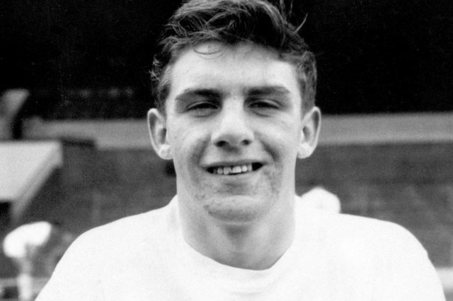 Peter Lorimer pictured in 1962, the year he signed for the club (Picture: PA)
