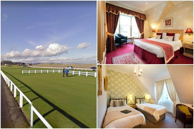 """TheGlenderran Guesthouse in St Andrews is just 250 yards from the Old Course, commonly known as """"The Home of Golf"""""""