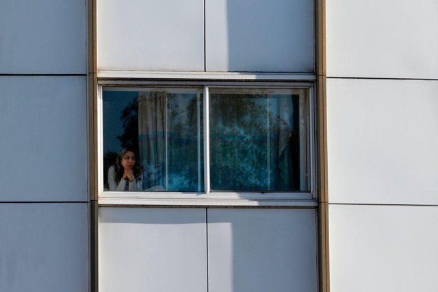 The Government made limited use of quarantine hotels early in the pandemic, such as this Holiday Inn hotel,close to Heathrow Airport which was block-booked by the Department of Health to use as a quarantine zone in March 2020 (Photo: ADRIAN DENNIS/AFP via Getty Images)