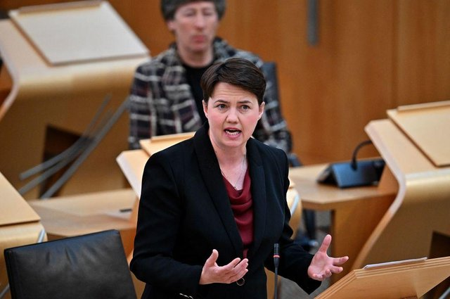 Boris Johnson has also been urged to appoint Ruth Davidson (pictured) as Secretary of State for Scotland. Picture: Getty Images