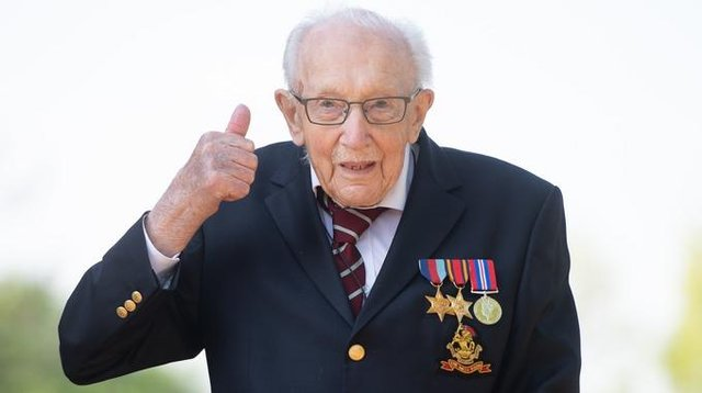 Captain Tom Moore has turned 100.