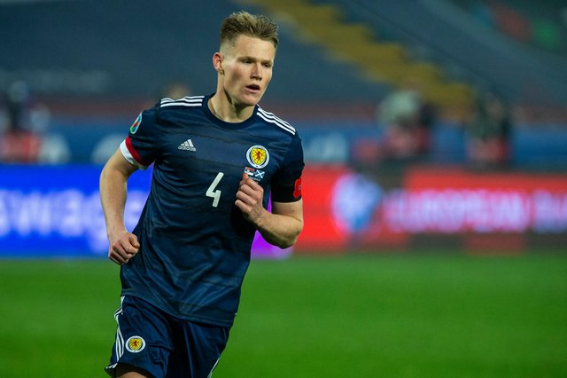 Scott McTominay is in form for Manchester United in midfield (Photo by Nikola Krstic / SNS Group)