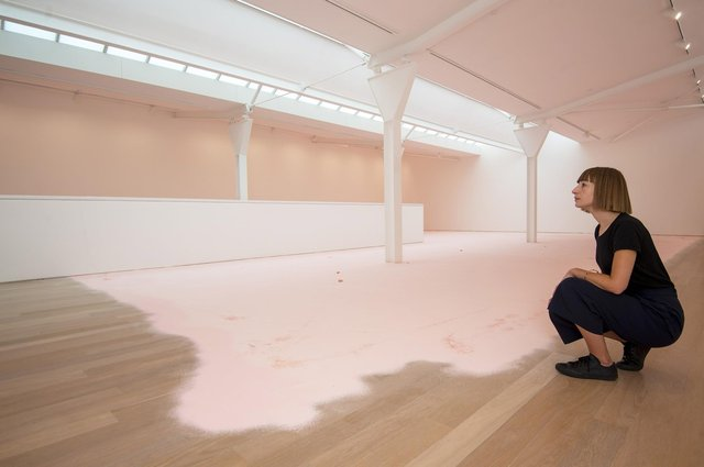 Karla Black's show at Edinburgh's Fruitmarket Gallery is its first since re-opening following the Covid lockdown (Picture: Neil Hanna)
