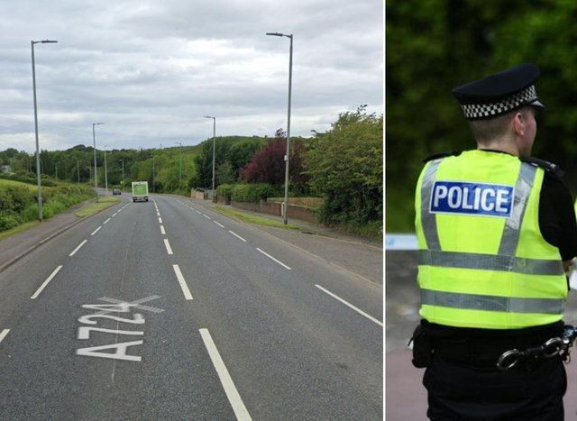 Police are appealing for information after a cyclist was hit by a car that fled the scene.