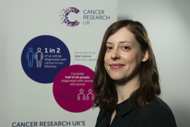 Kirsty Slack of Cancer Research UK