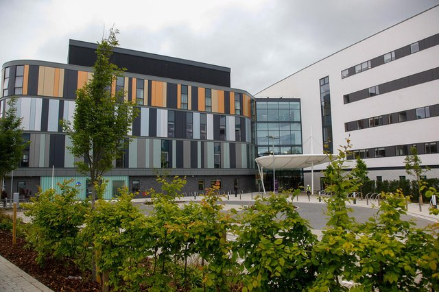 The new Royal Hospital for Children & Young People at Little France