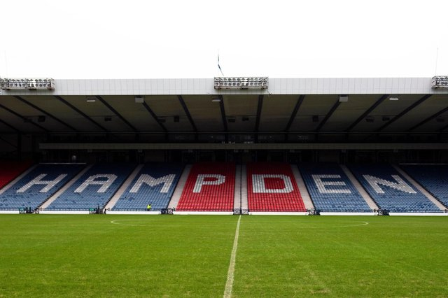 Queen's Park have played at Hampden Park for over 100 years. (Photo by Gary Hutchison / SNS Group)