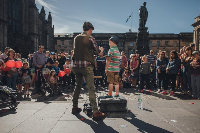 The Edinburgh Festival Fringe normally attracts huge crowds onto the streets of the city. (Picture: David Monteith-Hodge)