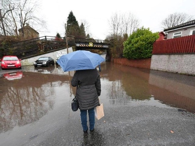 Part of Scotland will see heavy rain on Thursday, with flood warnings in place.