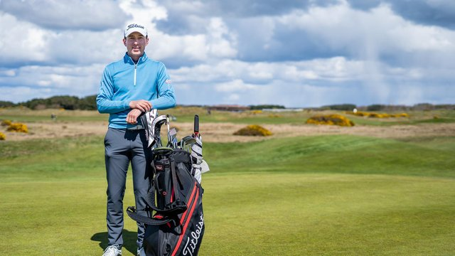 Euan Walker is the new touring professional at Dundonald Links, where Darwin Estates are investing £25 million on and off the course.