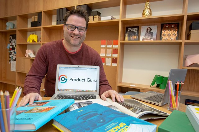 Simon Coyle, chief executive of Product Guru, the fast-growing online product discovery platform. Picture: Studio Cee Photography