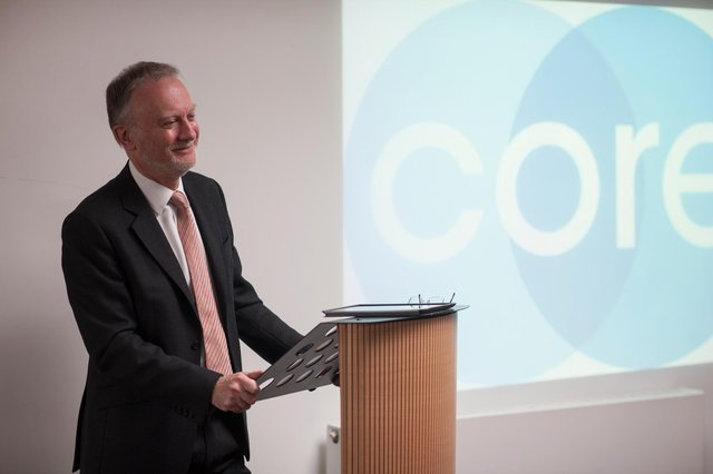 Leading Scottish mediation service Core Solutions, led by John Sturrock QC, celebrates 20 years in business this month. Picture: Angus Bremner