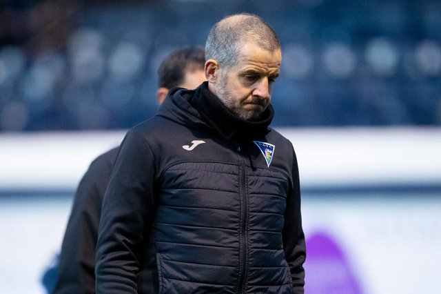 Stevie Crawford has resigned as manager of Dunfermline (Photo by Ross Parker / SNS Group)