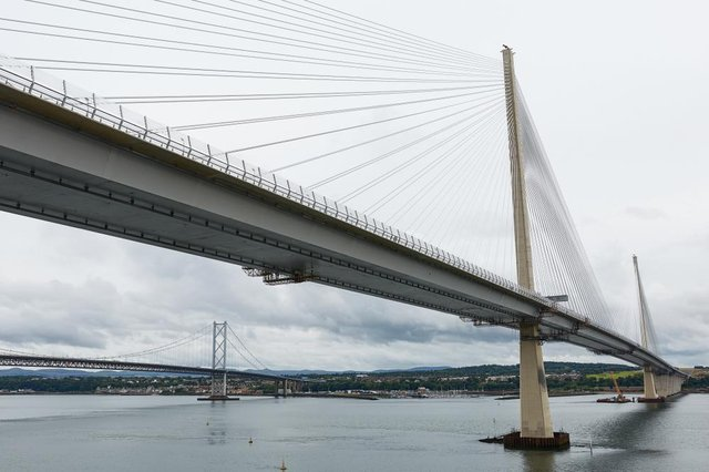 It is not the first time that the £1 billion bridge, which opened in 2017, has been shut by officials this winter.